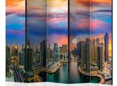 Paraván - Afternoon in Dubai II [Room Dividers]
